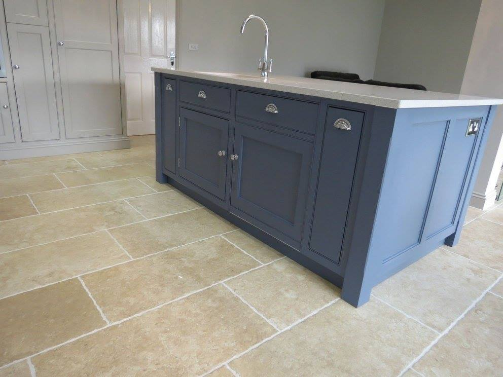 Blue and Grey Painted Kitchen – GF Cabinet Makers