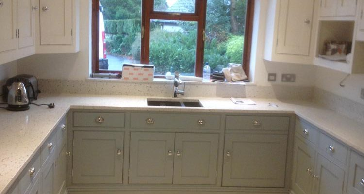Blue And Cream Painted Kitchen Gf Cabinet Makers