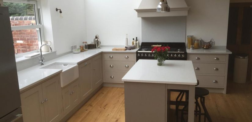 Kitchen Without Wall Cupboards - GF Cabinet Makers